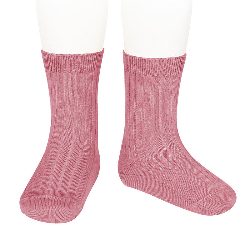 Basic rib short socks ,Tamarisk 2.016/4 670