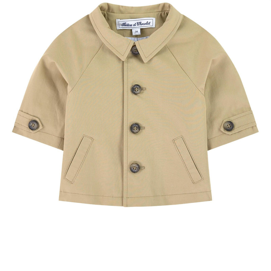 BABY TRENCH COAT 2,Beige