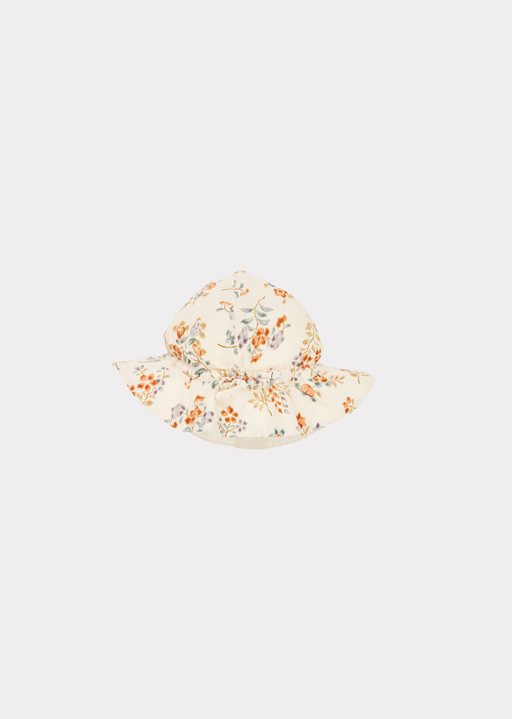 CHISWICK BABY SUNHAT, FLOATING BOUQUET