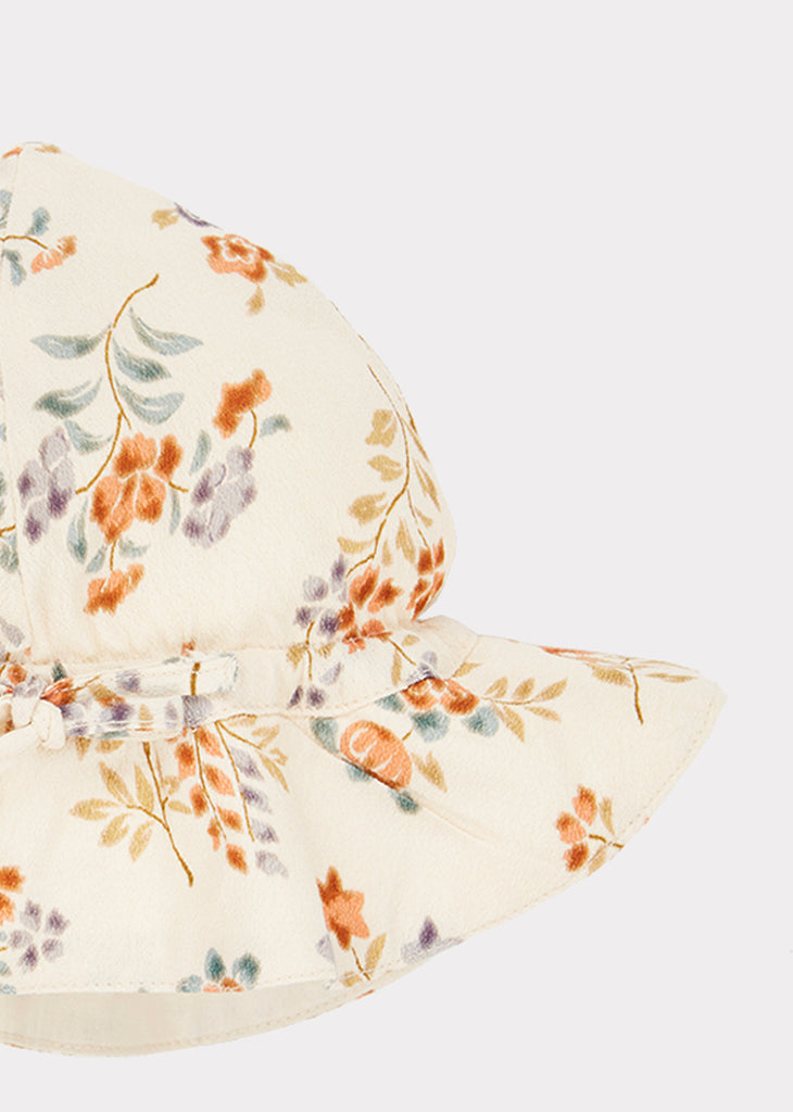 CHISWICK BABY SUNHAT, FLOATING BOUQUET - Cemarose Children's Fashion Boutique
