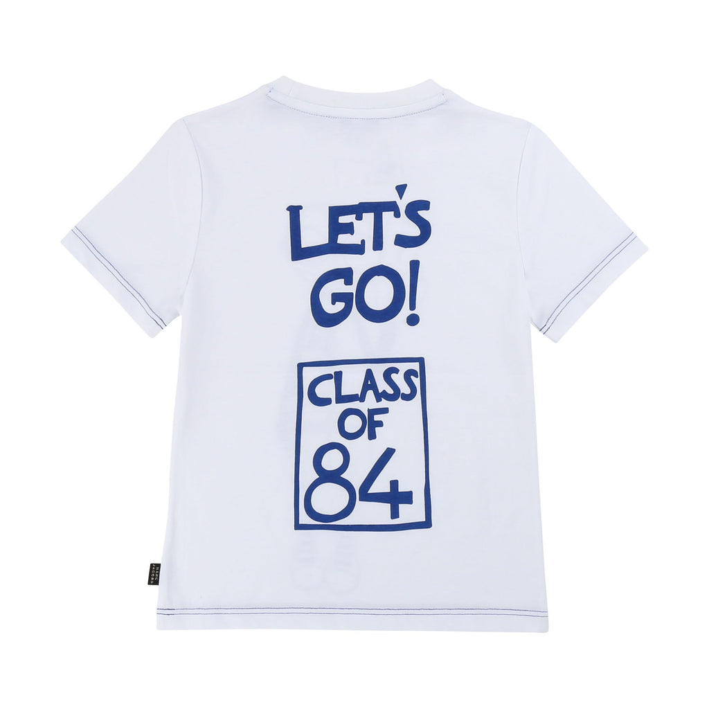 NYUNIVERSITY T-SHIRT, WHITE - Cemarose Children's Fashion Boutique