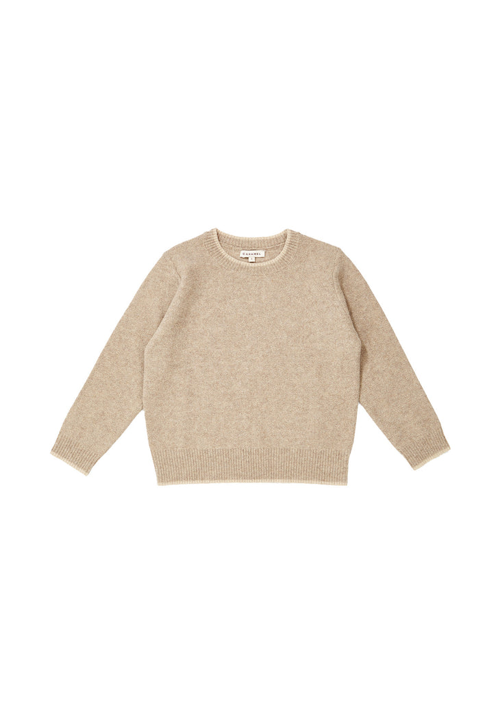 HECTOR JUMPER, OATMEAL - Cemarose Children's Fashion Boutique