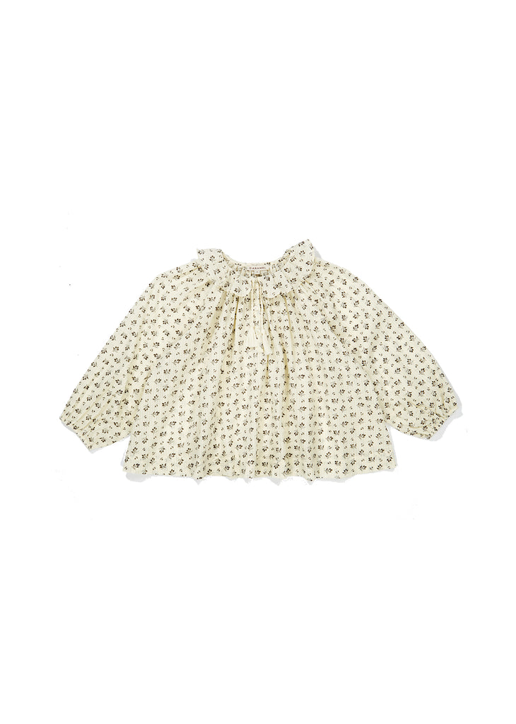 HYDRANGEA BABY BLOUSE,DITSY CLOVER PRINT - Cemarose Children's Fashion Boutique
