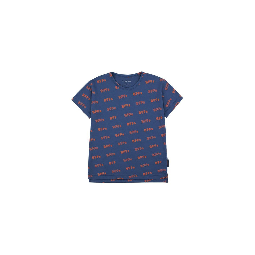 SS19-BFFs,SS TEE light navy/sienna - Cemarose Children's Fashion Boutique