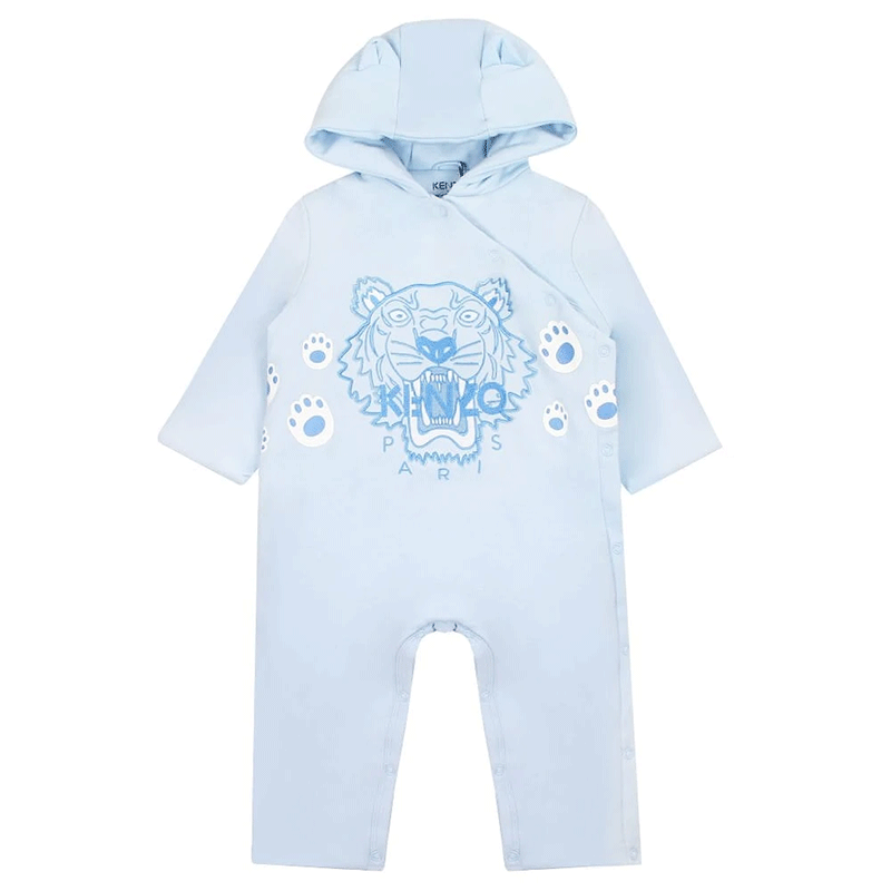 TIGER NB 4 COMBILONG, LIGHT BLUE - Cemarose Children's Fashion Boutique