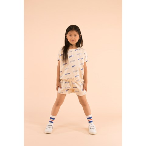 SS19-BFFs,SS BLOUSE cream/ultramarine - Cemarose Children's Fashion Boutique