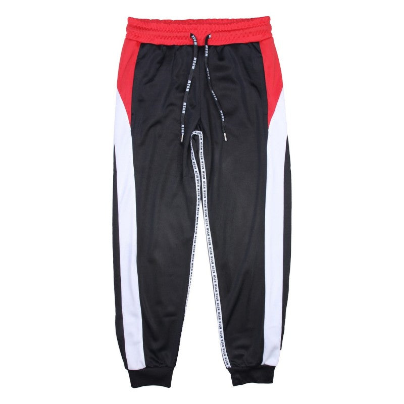 TRAACETATE TROUSERS BOY,BLACK