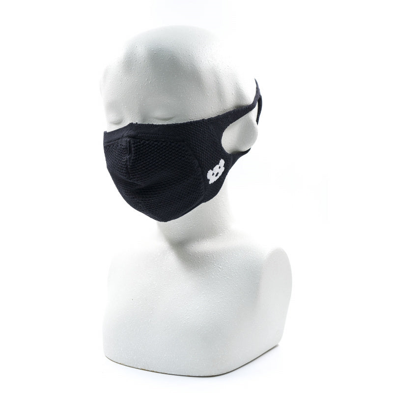 KNITTED MASK,BLACK