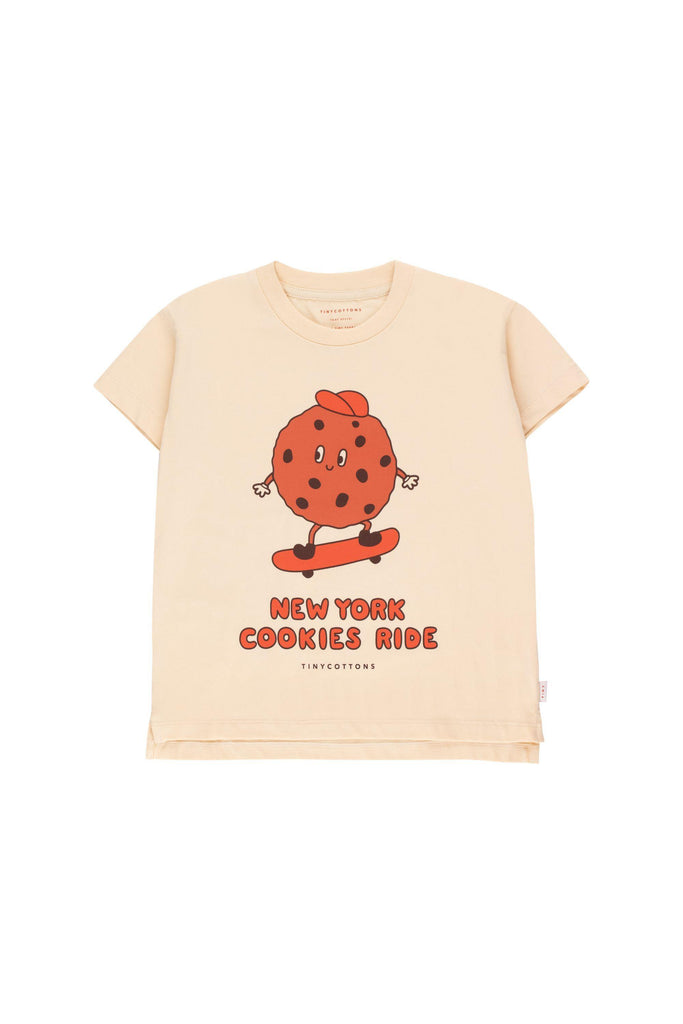 """COOKIE RIDE"" TEE cream/brown - Cemarose Children's Fashion Boutique"