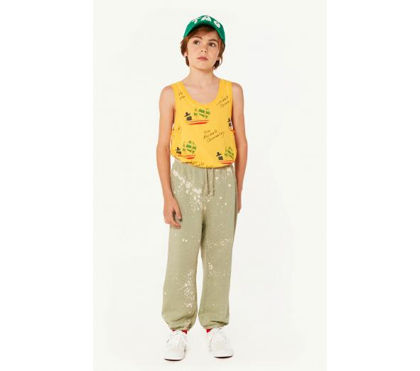 FROG KIDS T-SHIRT, YELLOW SHIPS - Cemarose Children's Fashion Boutique