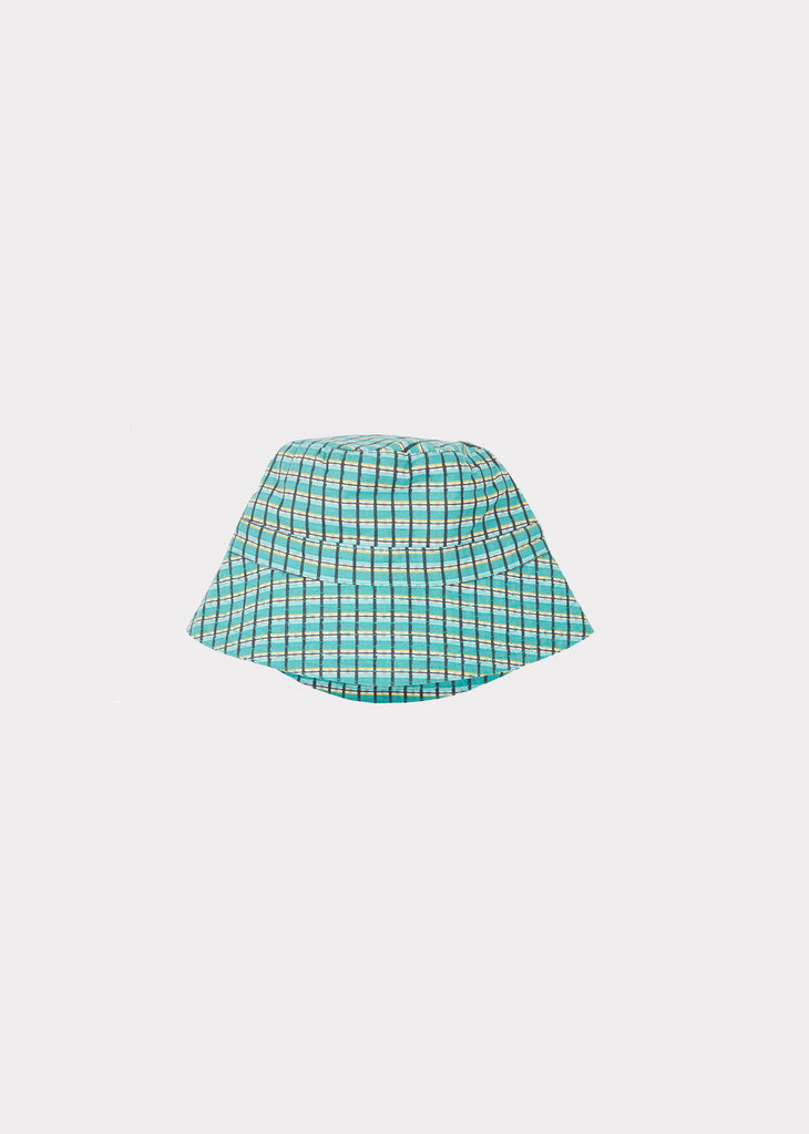 WEMBLEY BABY HAT, TOURMALINE PAINTED CHECK