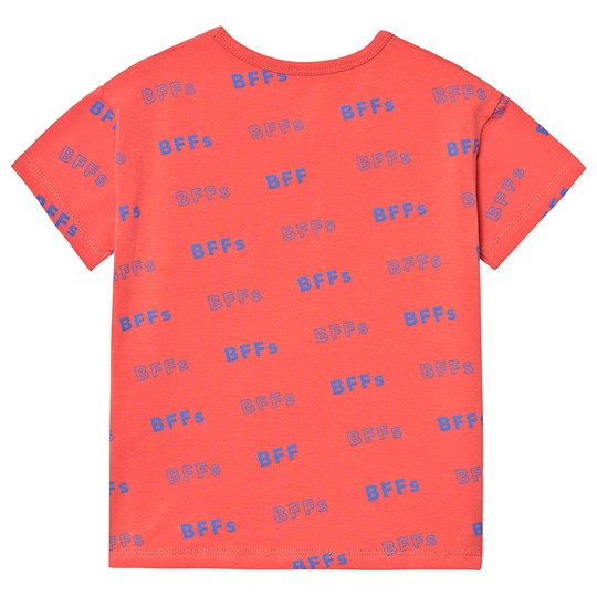 SS19-BFFs,SS TEE light red/ultramarine - Cemarose Children's Fashion Boutique