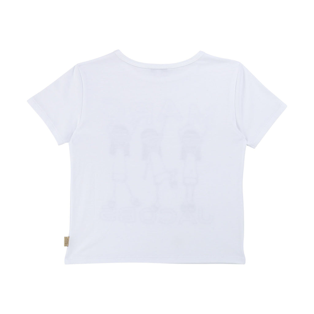 MARC JACOBS T-SHIRT, WHITE - Cemarose Children's Fashion Boutique