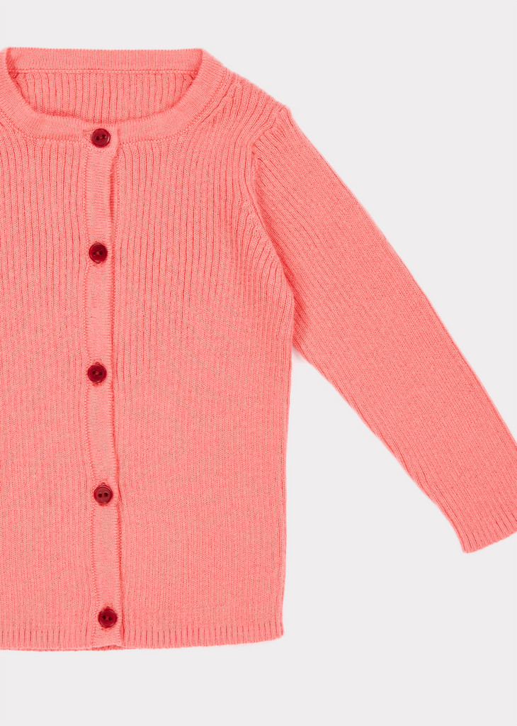 ZENOBIA BABY CARDIGAN,CANDY - Cemarose Children's Fashion Boutique