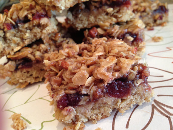 Cranberry Chip Pecan Oat Bar
