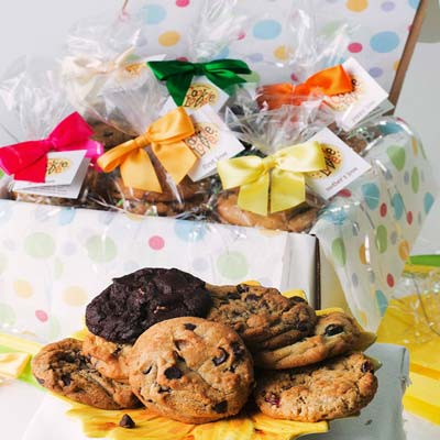 Summer Fun 8 Piece Cookie Box