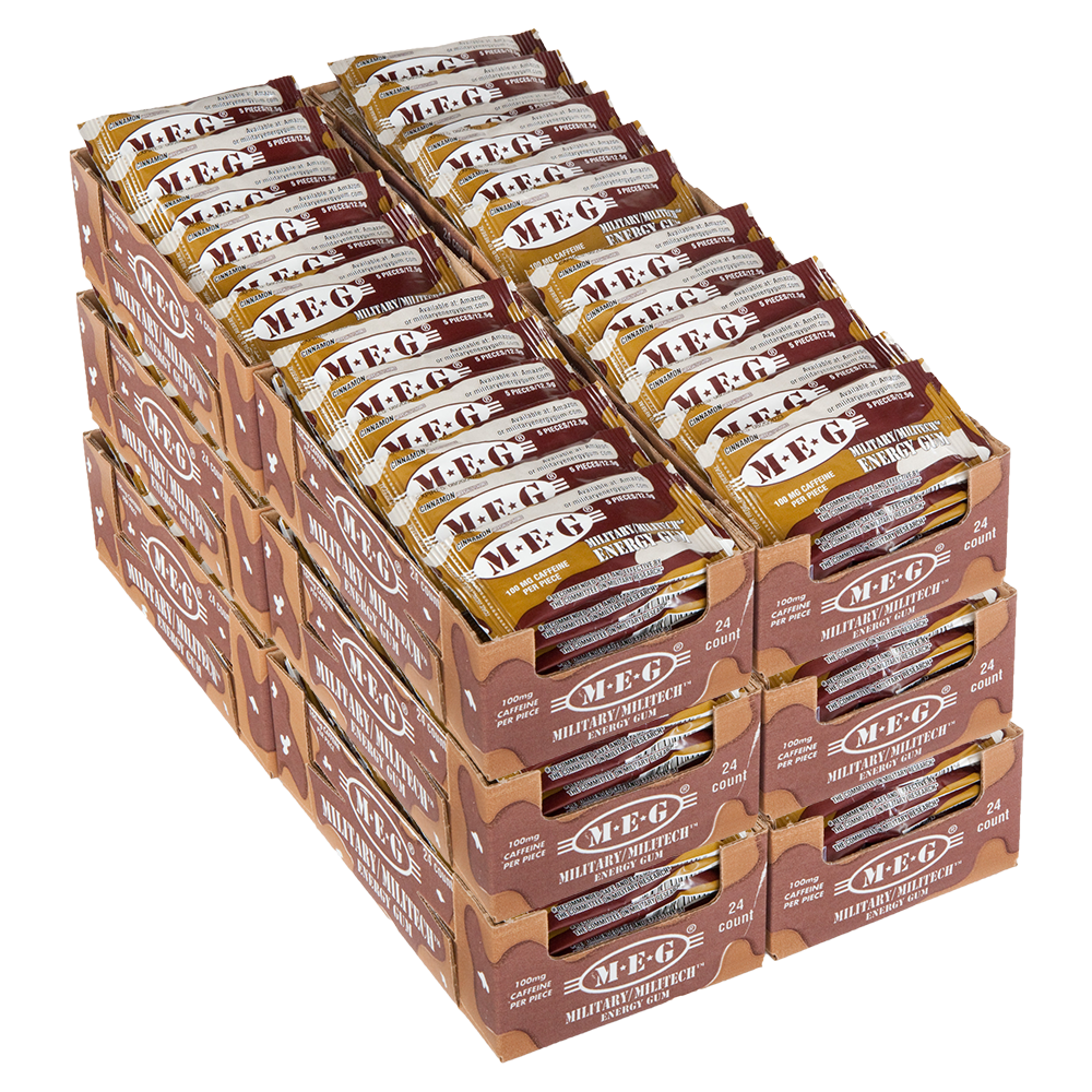 Products - Military Energy Gum