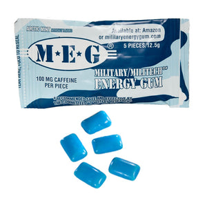 Military Energy Gum | Multi Flavor 6 Pack