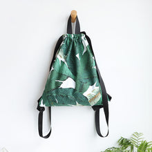 Load image into Gallery viewer, Leafy Mochila Bag