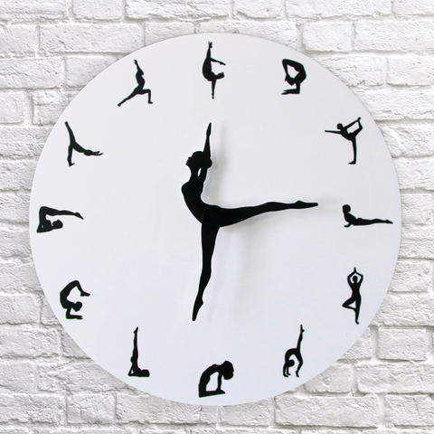 Flexible Girl Wall Clock