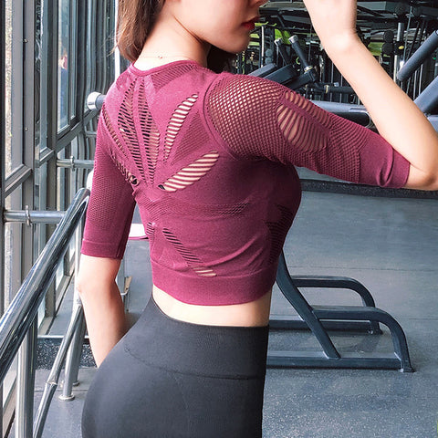 Peek-A-Boo Stretch Top