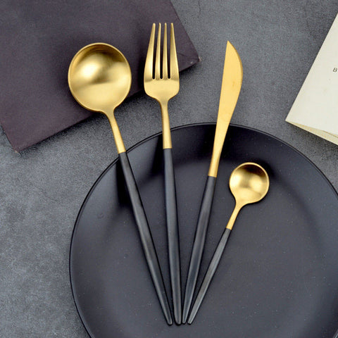 Royal Gold-Plated Cutlery