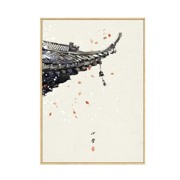 Japan Style Wall Art Canvas Painting