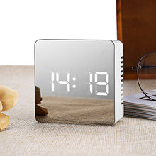 Load image into Gallery viewer, Luxury Mirror Alarm Clock