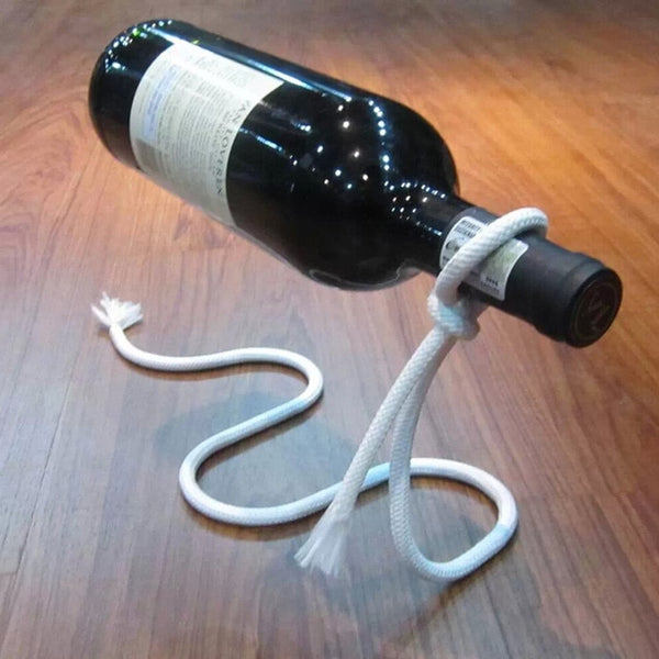 Luxurious Floating Chain Bottle Holder