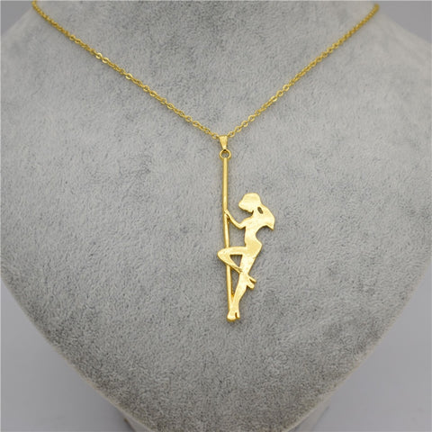 Elegant Pole Dancing Necklace