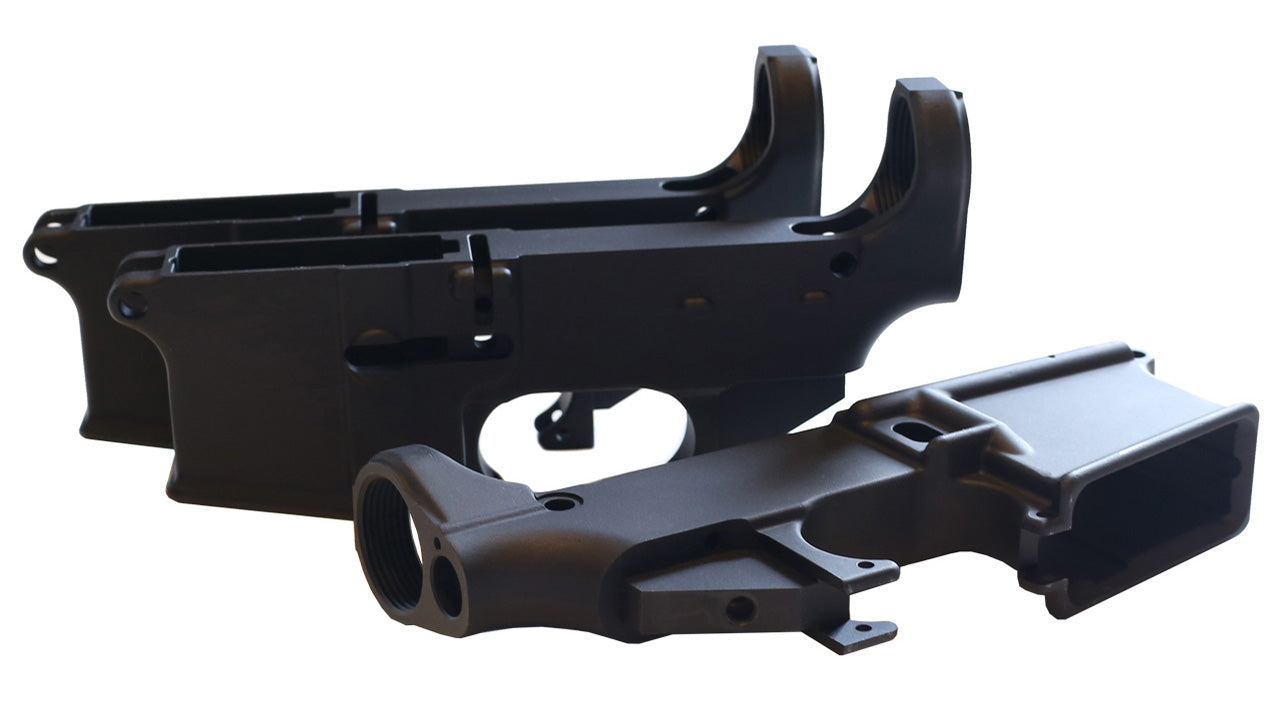 AR Lower Receiver 3 Pack