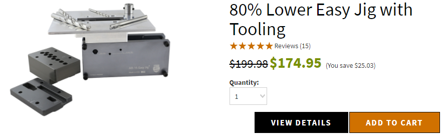 80% Lower Easy Jig with Tooling