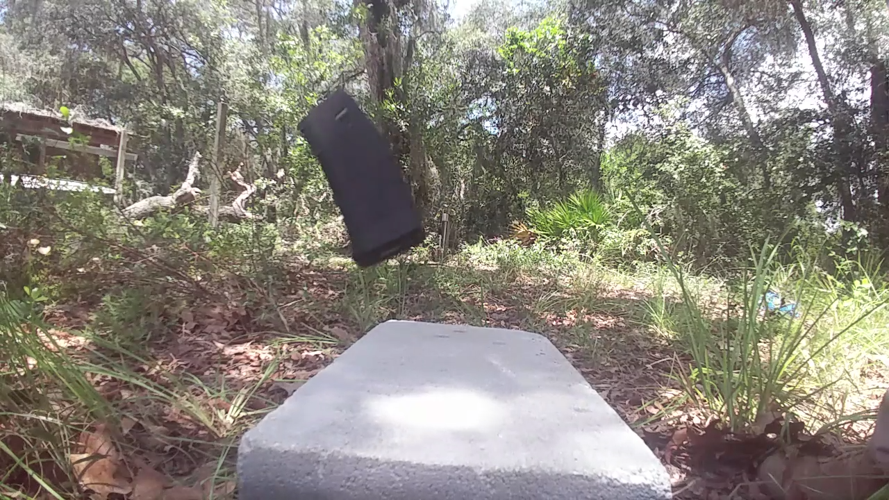 PMag Torture Test 1: The Cinder Block Drop