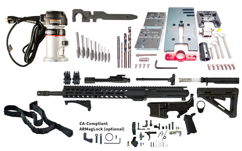 Ultimate Build Kit (AR-15) - AR-15 Lower Receivers