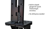 Premium Black 80% Lowers (3-Count) Billet Fire/Safe Engraved & Easy Jig Gen 1 with Tooling - AR-15 Lower Receivers