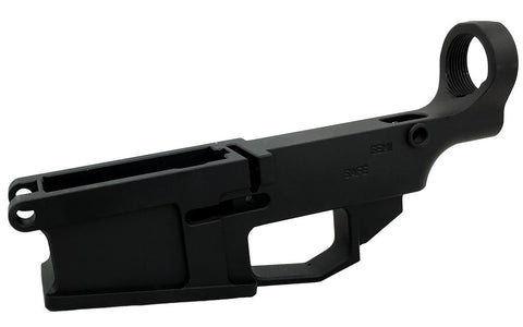 Black AR-10 80% Lower Billet Fire/Safe Engraved (2-Count) - AR-15 Lower Receivers