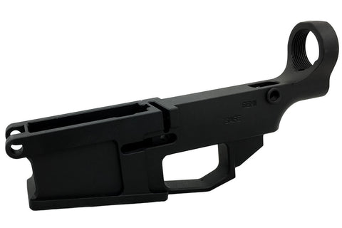 Black .308 80% Lower Billet Fire/Safe Engraved (1-Count) - AR-15 Lower Receivers
