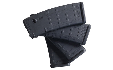 PMAG 30 Round 5.56 Magazine, AR-15, Black, Magpul, 4-pack - AR-15 Lower Receivers