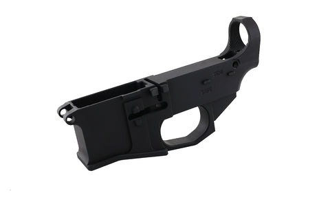 Premium Black 80% Lower Billet Fire/Safe Engraved (1-Count) - AR-15 Lower Receivers