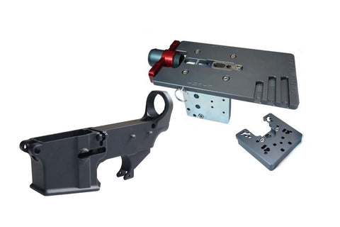 Black 80% Lower (1-Pack) &  Easy Jig Gen 2 with Tooling - AR-15 Lower Receivers