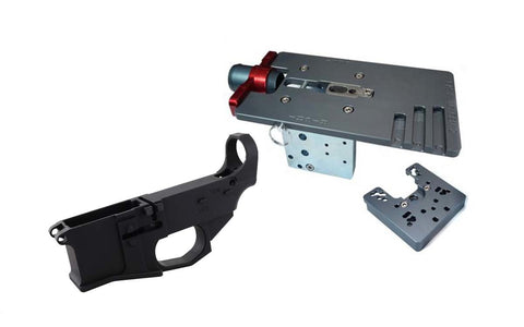 Premium Billet 80% Lower Fire/Safe Marked (1-Pack) &  Easy Jig Gen 2 with Tooling - AR-15 Lower Receivers