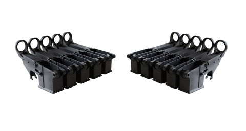Black 80% Lower (10-Count) - AR-15 Lower Receivers