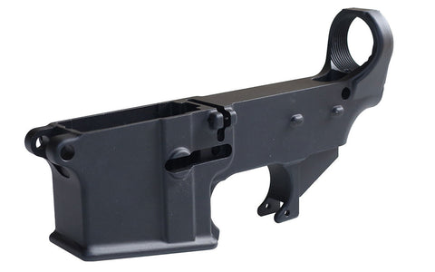 Black 80% Lower (1-Count) - AR-15 Lower Receivers