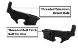 (1-Pack) 80% Lower Fire/Safe Engraved - Enhanced - AR-15 Lower Receivers
