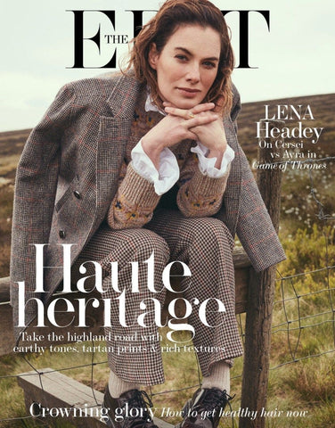 Lena Headey en couverture d'Elle UK