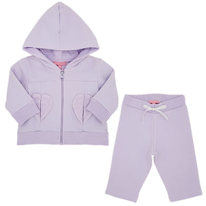 Ensemble jogging bébé fille ESCADA d'occasion 3 mois parme