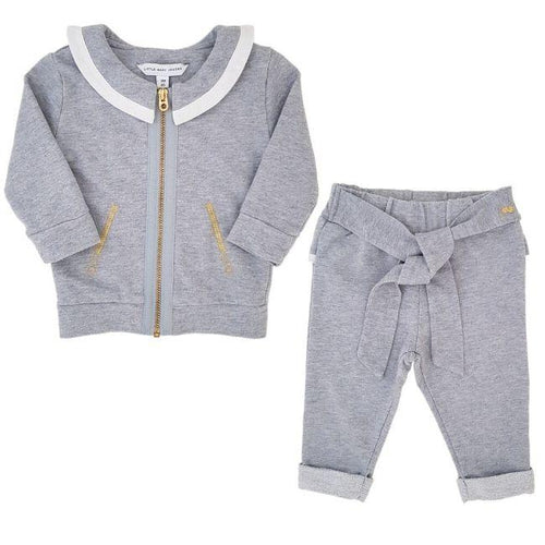 Vêtement LITTLE MARC JACOBS bébé d'occasion - Ensemble bebe fille 3 mois gris