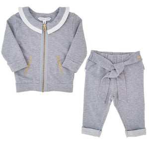 LITTLE MARC JACOBS Ensemble bébé fille gris 3 mois