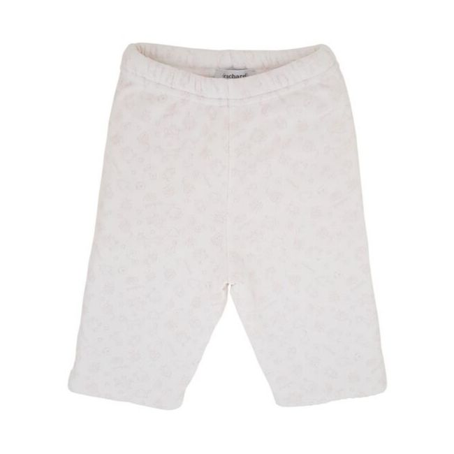 Vêtement CACHAREL bébé d'occasion - Pantalon bebe fille CACHAREL 3 mois blanc