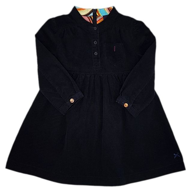 Robe bébé PAUL SMITH d'occasion 18 mois en velours noir